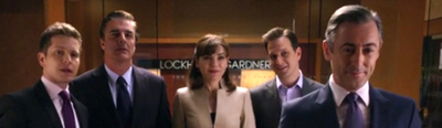 The Good Wife Season series 3 finale diane lockhart alicia florick eli gold will gardner kalinda sharma david lee Derrick Bond Wendy Scott Carr Julius Cain Luis Canning Cary Agos Zachary Grace