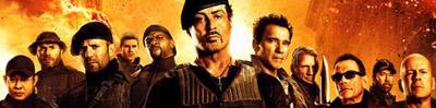 The Expendables 2 Sylvester Stallone, Jason Statham, Jet Li, Dolph Lundgren, Chuck Norris, Randy Couture, Terry Crews, Liam Hemsworth, Jean-Claude Van Damme, Bruce Willis, Arnold Schwarzenegger