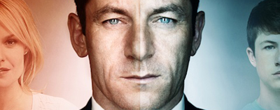 """Awake is an American television police procedural fantasy drama, created by writer and executive producer Kyle Killen, that centers on Michael Britten (Jason Isaacs), a detective living in two separate realities after a car accident. In one reality, in which he wears a green wrist band, his wife Hannah Britten (Laura Allen) was killed in the crash, and in another reality, in which he wears a red wrist band, his son Rex Britten (Dylan Minnette) was the one killed. Michael does not know which reality is real. He sees two separate therapists: Dr. Jonathan Lee (BD Wong) in the """"red reality"""", and Dr. Judith Evans (Cherry Jones) in the """"green reality""""."""