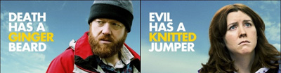 Sightseers ginger knitted