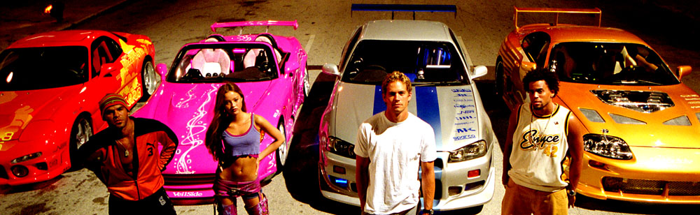 2 Fast Furious Two Paul Walker Tyrese Gibson Eva Mendes Cole