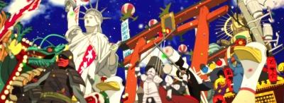 Paprika Parade Full Satoshi Kon,Yasutaka Tsutsui,Doctor Atsuko Chiba,Detective Toshimi Konakawa,Doctor Kōsaku Tokita,Doctor Toratarō Shima,Megumi Hayashibara,Tōru Furuya,Tōru Emori,Katsunosuke Hori,