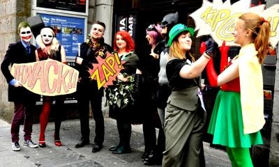 DARK KNIGHT COSPLAY COSTUMES The Joker, Harley Quinn, Henri Ducard, Ra's al Ghul, Catwoman, Batman The Riddler, Robin
