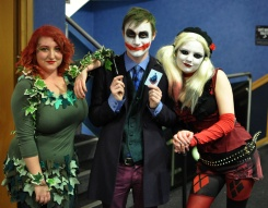 DARK KNIGHT COSPLAY COSTUMES, THE JOKER, POISON IVY, HARLEY QUINN, Dr. Harleen Frances Quinzel, Dr. Pamela Lillian Isley