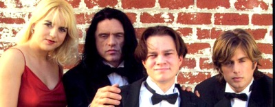 The Room Lisa Johnny Denny Mark Oh Hi Mark, You're tearing me apart lise, Tommy Wiseau