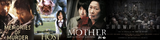 Bong Joon-ho Memories of Murder, The Host, Mother, Snowpiercer