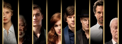 Now You See Me 02 Jesse Eisenberg, Woody Harrelson, Isla Fisher, Dave Franco, Mark Ruffalo, Mélanie Laurent, Michael J. Kelly, Michael Caine, Morgan Freeman, José Garcia