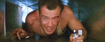 Die Hard Air Duct Zippo Vest John McLean Bruce Willis, Alan Rickman, Alexander Godunov, Bonnie Bedelia, Reginald VelJohnson, Paul Gleason, De'voreaux White, William Atherton, Hart Bochner, James Shigeta,
