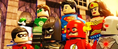 The Lego Movie Wallpaper Green Lantern Superman Wonderwoman Robbin Batman Flash