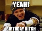breaking bad yeah birthday bitch jessie meme