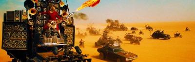 Mad Max 4 Fury Road GUITAR GUY Tom Hardy, Charlize Theron, Nicholas Hoult, Hugh Keays-Byrne, Rosie Huntington-Whiteley, Riley Keough, Zoë Kravitz, Abbey Lee, Courtney Eaton, Josh Helman, iOTA