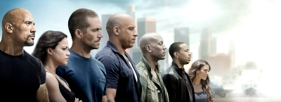 Vin Diesel, Paul Walker, Dwayne Johnson, Michelle Rodriguez, Tyrese Gibson, Chris Bridges, Jordana Brewster, Kurt Russell, and Jason Statham, Tony Jaa, Ronda Rousey