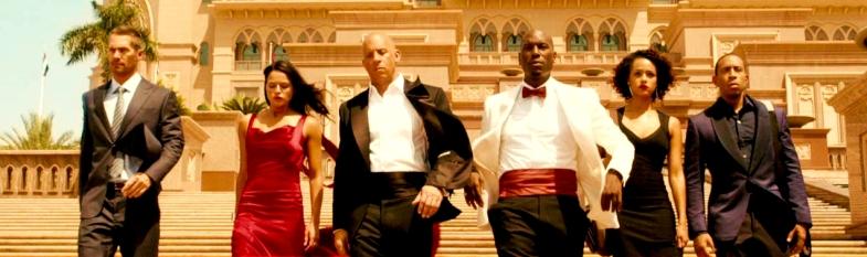 Vin Diesel, Paul Walker, Dwayne Johnson, Michelle Rodriguez, Tyrese Gibson, Chris Bridges, Jordana Brewster, Kurt Russell, and Jason Statham, Tony Jaa, Ronda Rousey
