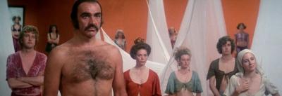 Zardoz Sean Connery, Charlotte Rampling, Sara Kestelman, John Alderton, Sally Anne Newton, Niall Buggy, Bosco Hogan, Jessica Swift,