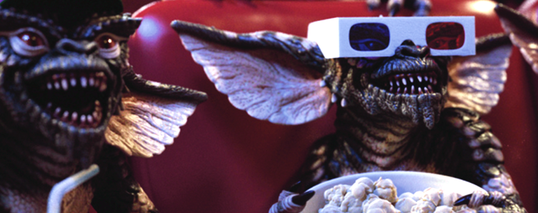 Gremlins Cinema Zach Galligan Phoebe Cates Hoyt Axton Polly Holliday Frances Lee McCain