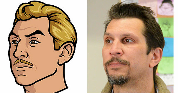 Lucky Yates Ray Gillette Face Krieger Voice