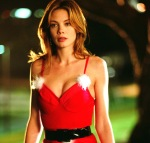 Michelle Monaghan Santa Suit Costume Kiss Kiss Bang Bang Shane Black, and starring Robert Downey, Jr., Val Kilmer