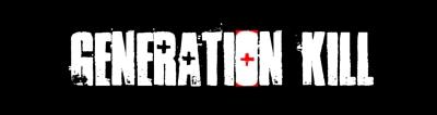 Generation Kill Logo Title Card Crosshair Alexander Skarsgård, James Ransone, Lee Tergesen, Jon Huertas, Stark Sands, Billy Lush, Jonah Lotan, Wilson Bethel, Pawel Szajda, Chance Kelly, Eric Ladin,