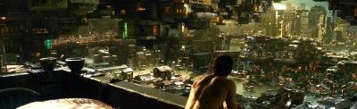 Total Recall remake Colony World Special Effects Colin Farrell , Kate Beckinsale, Jessica Biel, Bryan Cranston, Bokeem Woodbine, Bill Nighy, John Cho, Steve Byers, Ethan Hawke,