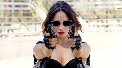 Bring Me the Head of the Machine Gun Woman Tráiganme la cabeza de la mujer metralleta Fernanda Urrejola, Matías Oviedo, Jorge Alis, Sofía García, Alex Rivera, Felipe Avello, Pato Pimienta, Francisca Castillo Lolita