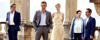 The Night Manager Cast BBC AMC Roper Birch Pine, John le Carré, Tom Hiddleston, Hugh Laurie, Olivia Colman, Tom Hollander, Elizabeth Debicki, Alistair Petrie, Douglas Hodge, David Harewood, Tobias Menzies, Michael Nardone