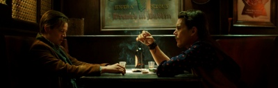 Predestination Bar Ethan Hawke, Sarah Snook, Noah Taylor, Madeleine West, Christopher Kirby, Freya Stafford, Jim Knobeloch, Christopher Stollery, Tyler Coppin, Rob Jenkins, Michael Spierig, Peter Spierig, Spierig brothers