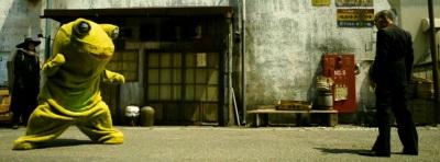 Yakuza Apocalypse, frogman, 極道大戦争, Gokudō Daisensō, Takashi Miike, Yayan Ruhian, Rirî Furankî, Hayato Ichihara, Kiyohiko Shibukawa, Riko Narumi, Pierre Taki, Ryushin Tei,