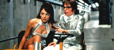 Austin Powers Shiny Mike Myers, Elizabeth Hurley, Robert Wagner, Seth Green, Mindy Sterling, Michael York, Fabiana Udenio, Will Ferrell, Mimi Rogers, Joe Son, Carrie Fisher, Burt Bacharach, Cindy Margolis
