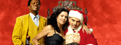 Bad Santa Terry Zwigoff. With Billy Bob Thornton, Bernie Mac, Lauren Graham, John Ritter