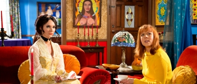 The Love Witch Interior Samantha Robinson, Gian Keys, Laura Waddell, Jeffrey Vincent Parise, Jared Sanford, Robert Seeley, Jennifer Ingrum, Clive Ashborn, Stephen Wozniak, Elle Evans