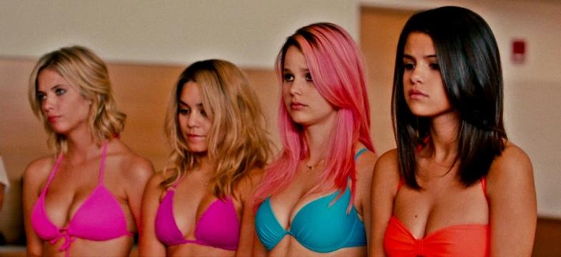Spring Breakers Bikini Court Arrest Harmony Korine, Benoît Debie, Ashley Benson, Vanessa Hudgens, Selena Gomez, Rachel Korine, James Franco