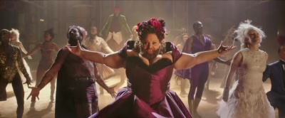 The Greatest Showman Bearded Lady Cleavage Hugh Jackman, Zac Efron, Michelle Williams, Rebecca Ferguson, Zendaya, Keala Settle, Sam Humphrey, Paul Sparks, Paul Sparks,