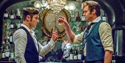 The Greatest Showman Boozy Bar Drunk Mumford Song Hugh Jackman, Zac Efron, Michelle Williams, Rebecca Ferguson, Zendaya, Keala Settle, Sam Humphrey, Paul Sparks, Paul Sparks,