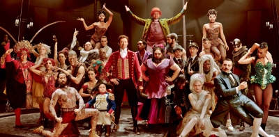 The Greatest Showman Hugh Jackman, Zac Efron, Michelle Williams, Rebecca Ferguson, Zendaya, Keala Settle, Sam Humphrey, Paul Sparks, Paul Sparks,