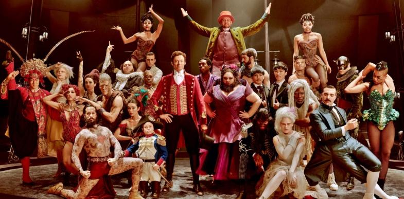 The Greatest Showman Hugh Jackman, Zac Efron, Michelle Williams, Rebecca Ferguson, Zendaya, Keala Settle, Sam Humphrey, Paul Sparks, Paul Sparks,