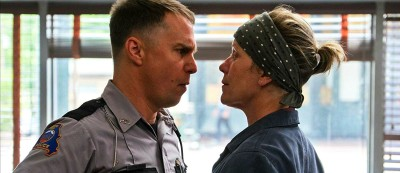 Hey Fuckhead standoff Mama Training Three Billboards Outside Ebbing Missouri Martin McDonagh, Frances McDormand, Woody Harrelson, Sam Rockwell, Caleb Landry Jones, Kerry Condon, Amanda Warren, Darrell Britt-Gibson, Abbie Cornish, Lucas Hedges, Željko Ivan